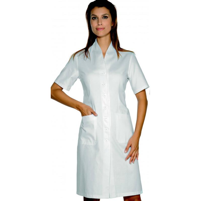LUGANO Blouse médicale femme manches courtes coton