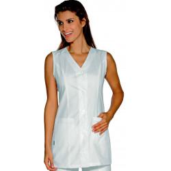 TROPEA Tunique de travail femme coton sans manches