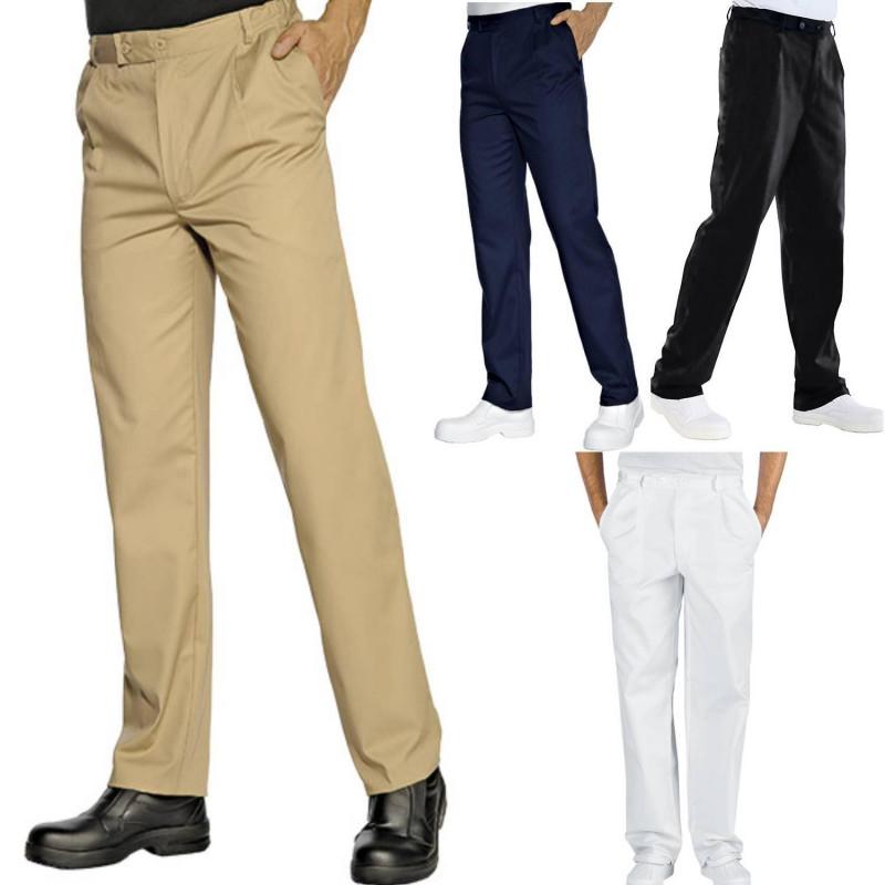 Pantalon de service taille élastique