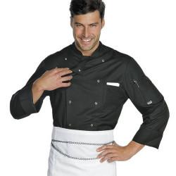Veste de cuisine BOTTONI homme manches longues