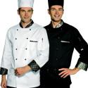 ROYAL Veste de cuisine homme manches longues