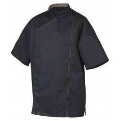 POWER+ Veste de cuisine homme manches courtes ROBUR