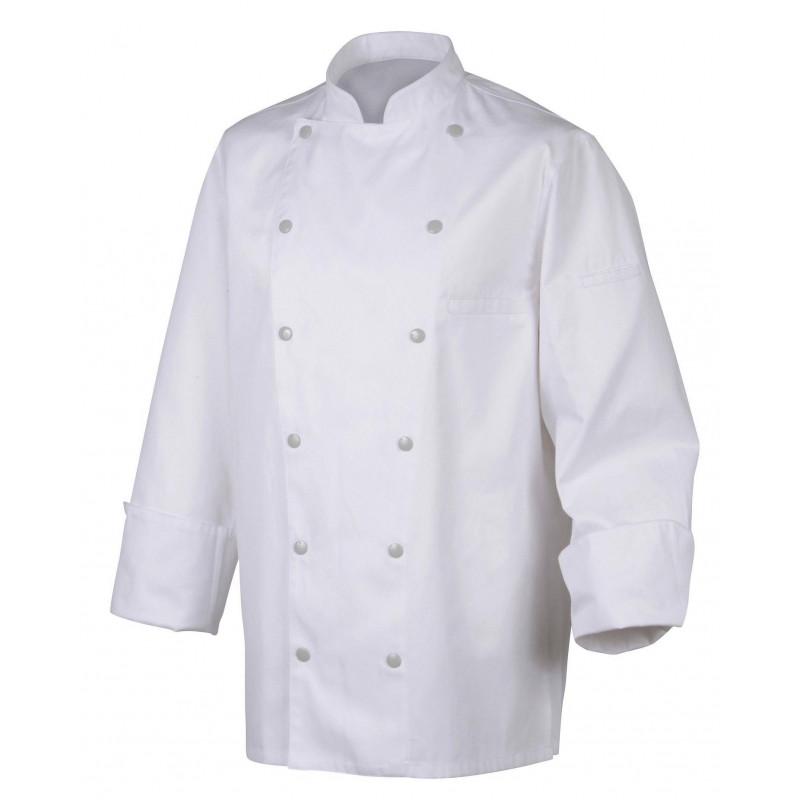 SAVOYE Veste de cuisine mixte coton peigné ROBUR