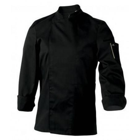NERO MANCHES LONGUES Veste de cuisinier mixte ROBUR
