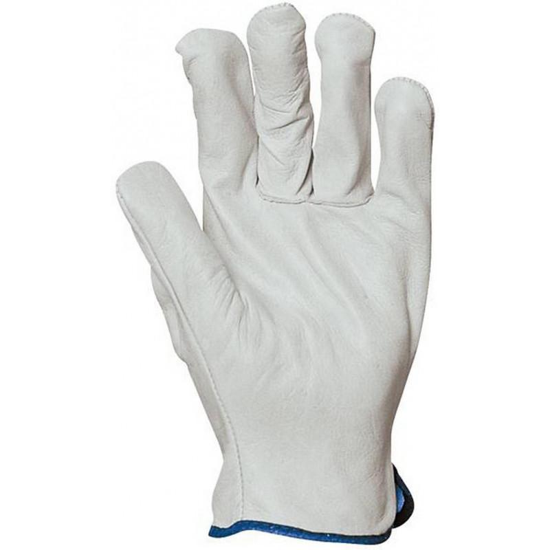 Lot de 10 gants de maîtrise tout fleur de buffle