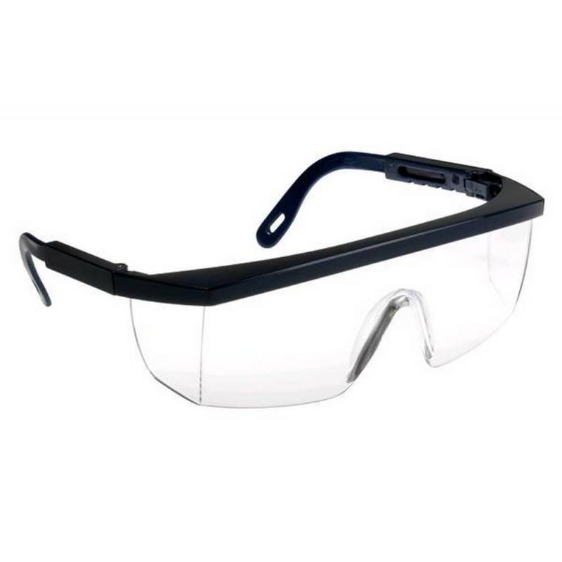 Lot de 10 paires de lunettes de protection monobloc incolores ECOLUX