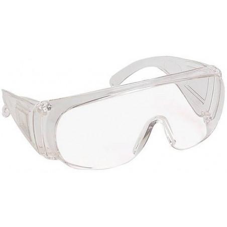 Lot de 10 paires de surlunettes de protection anti-rayure VISILUX AR