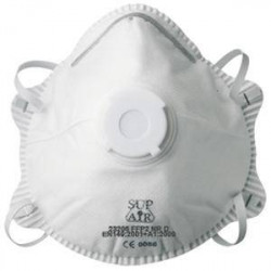 Lot de 10 masques FFP2 à coque SUP AIR