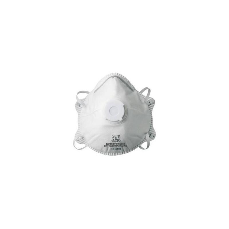 Lot de 10 masques FFP2 à coque SUP AIR