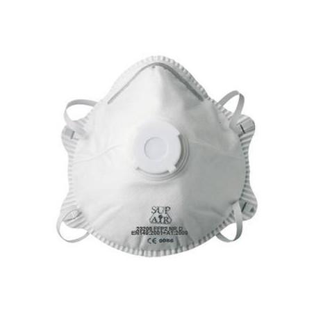 Lot de 10 masques de protection FFP2 à coque SUP AIR