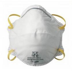 Lot de 12 boîtes de 20 masques de protection respiratoire FFP1 à coque SUP AIR
