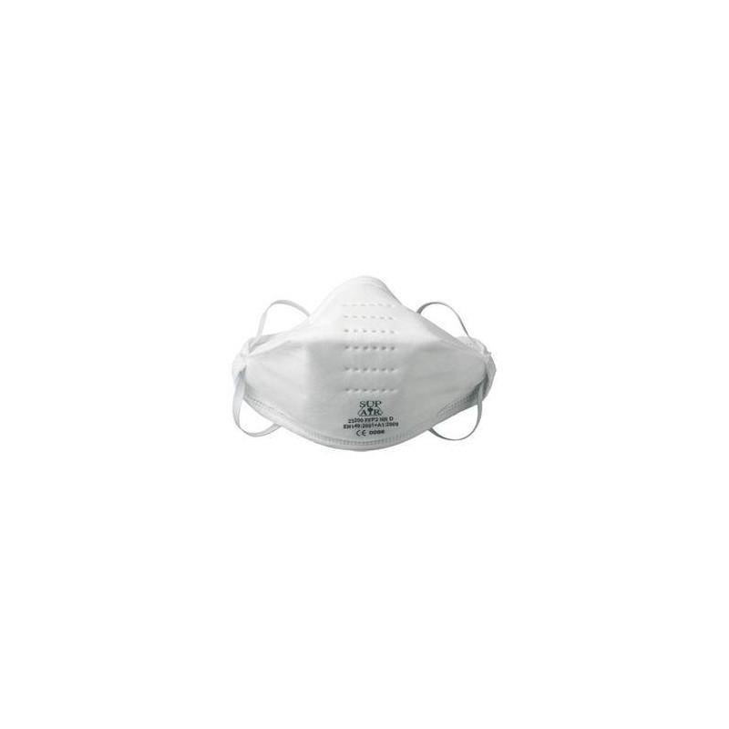 Lot de 12 boîtes de 20 masque de protection pliables FFP2