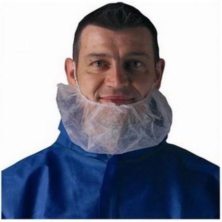 10 sachets de 100 Couvre-barbes jetables