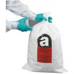 25 Sacs de récupération de déchets amiantés+ 1 rouleau de film de film étirable