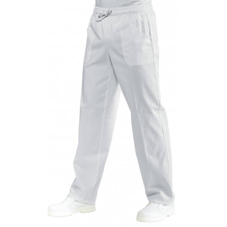 Pantalon de cuisinier sans repassage SATIN