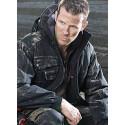 Veste de travail pour l'hiver en canvas avec capuche amovible AUSTIN
