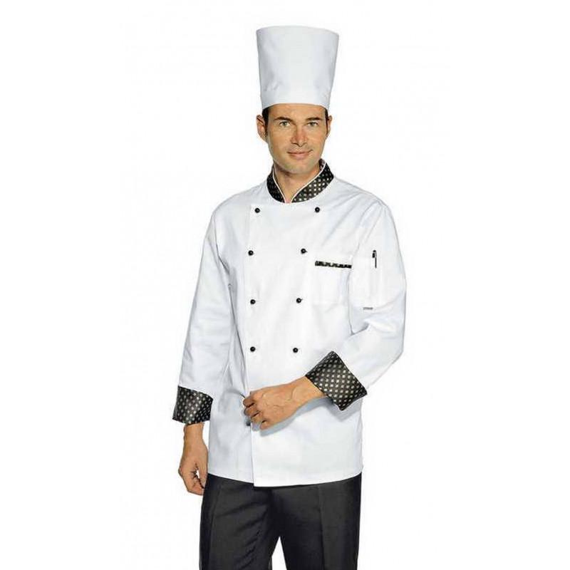 Veste de cuisine homme à manches courtes ROYAL