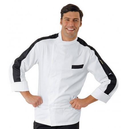 Veste de cuisinier à manches courtes MANHATTAN
