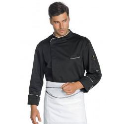 Veste de chef cuisine à manches courtes ANTI TRANSPIRATION