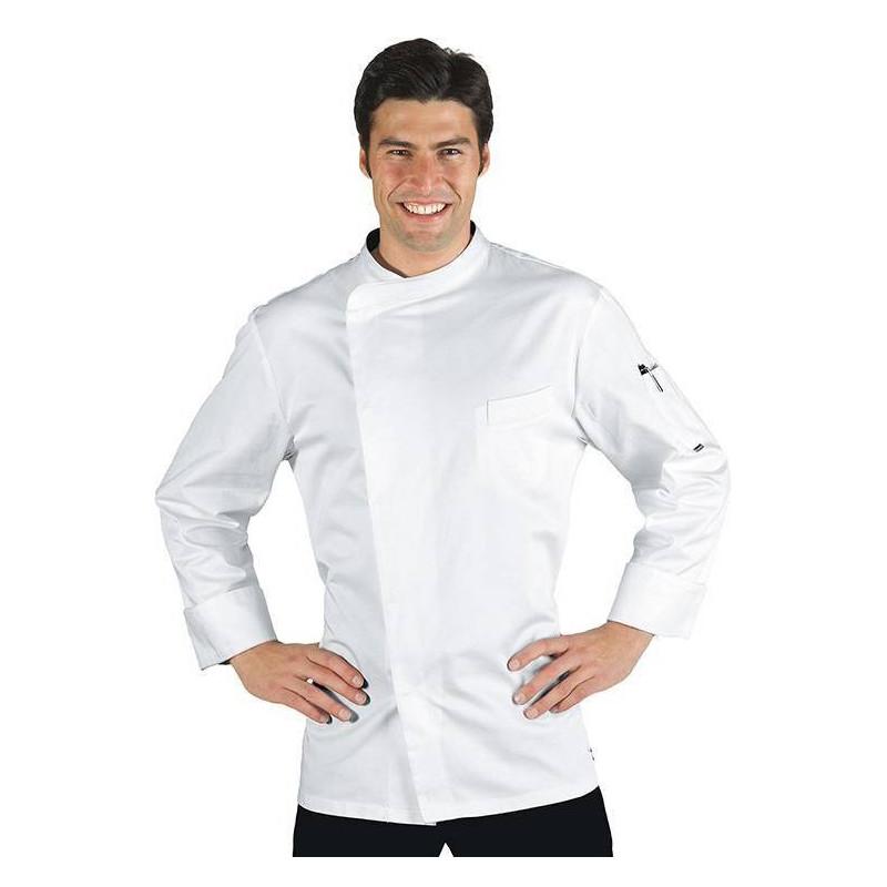 Veste de cuisinier antitranspirante à manches courtes AUCKLAND