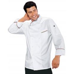 Veste de chef cuisinier à manches courtes ITALIANCHEF