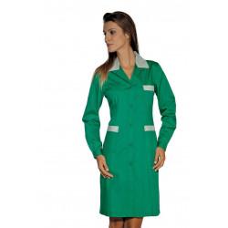 Blouse de travail femme colorée à manches longues POSITANO COLOURS