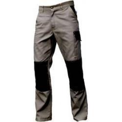 TYPHON Pantalon de travail vert olive poches genoux-sans métal