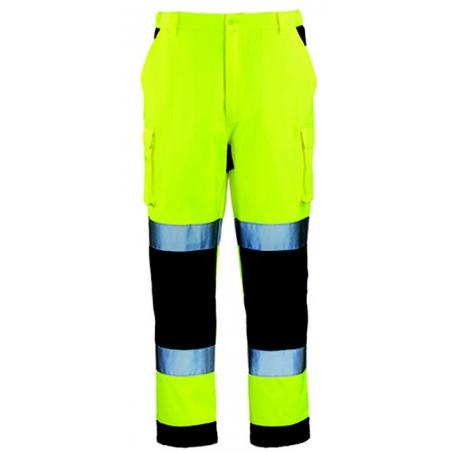 PATROL Pantalon de travail haute visbilité multipoches