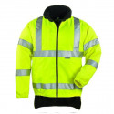 HIWAY veste de travail polaire chaude polyester haute visibilité