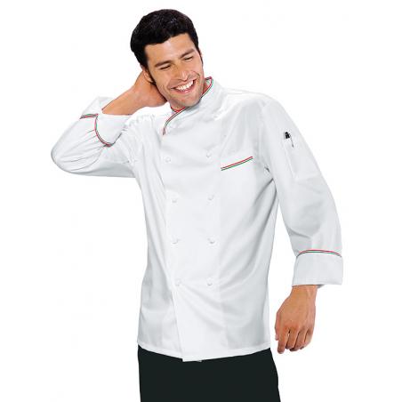 Veste de cuisinier ITALIANCHEF manches longues