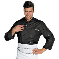 Veste de cuisine antitaches FRANCOFORTE manches longues