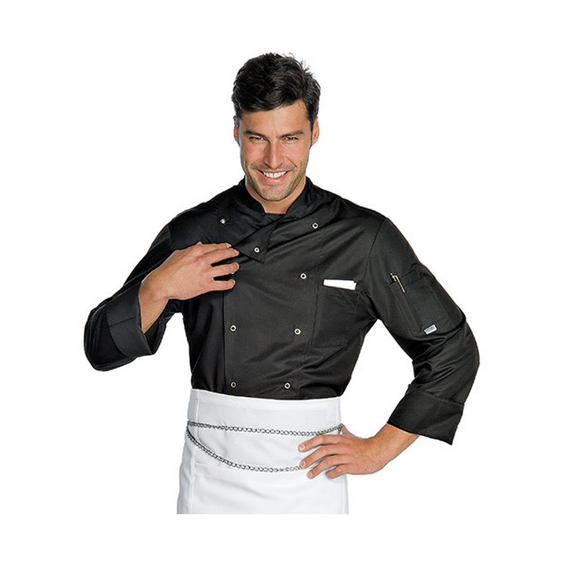 FRANCOFORTE Veste de cuisine antitache manches longues