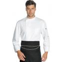 Veste de cuisine polyester YOKOHAMA homme manches longues