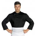 Veste de cuisinier polyester SUZUKA homme manches longues