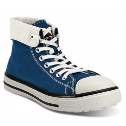 Baskets de sécurité hautes BLUES HIGH S1P SRC