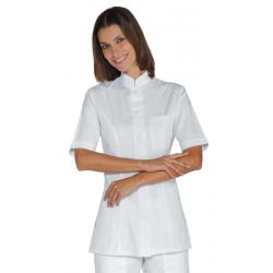 Tunique médicale femme manches courtes PORTOFINO Blanc