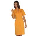 DONNA Blouse de travail femme légère à manches courtes et à boutons 125g/m²