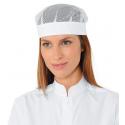 Calots de cuisine blanc avec filet POMPEI
