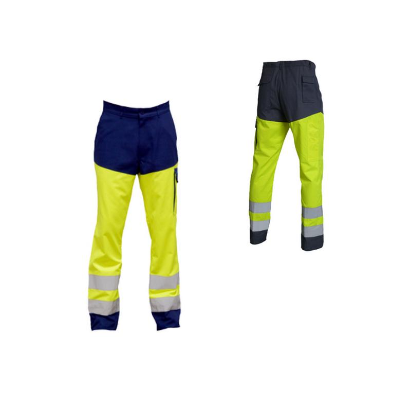 Pantalon de travail haute visibilité TYPHON HV