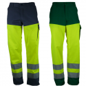 TYPHON HV Pantalon de travail haute visibilité multipoches