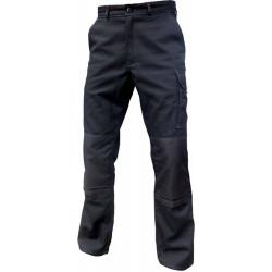 Pantalon de travail noir avec poches genoux TYPHON