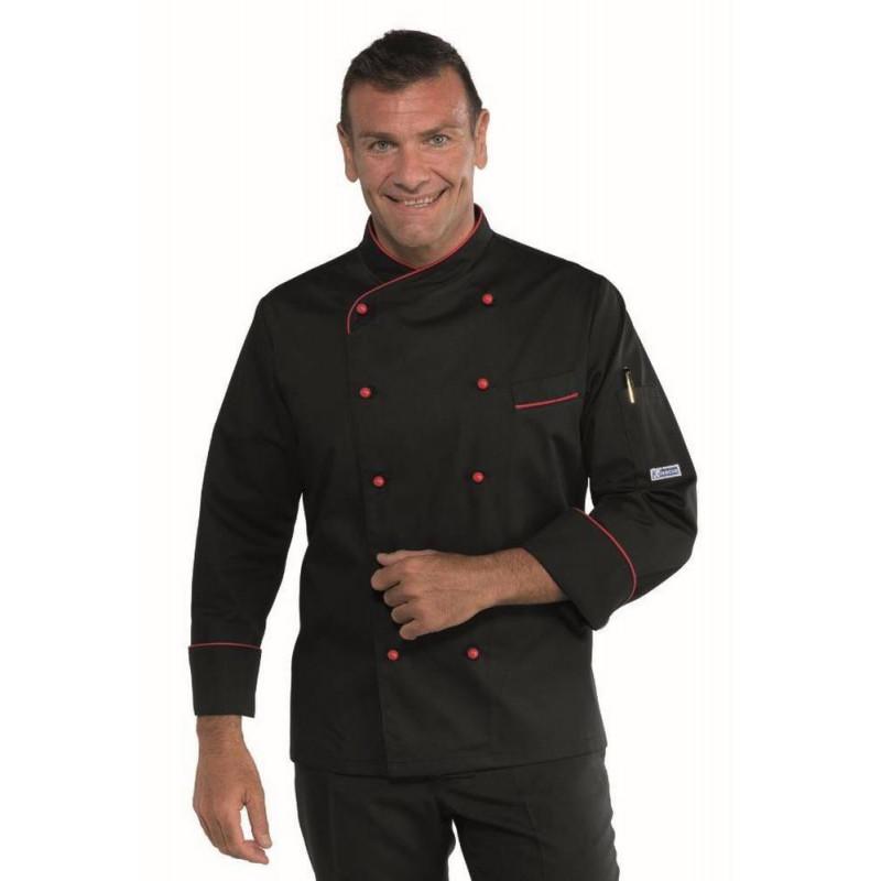 Veste de cuisine homme PANAMA SLIM POLYCOTON