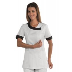 Tunique médicale femme DELHI blanche