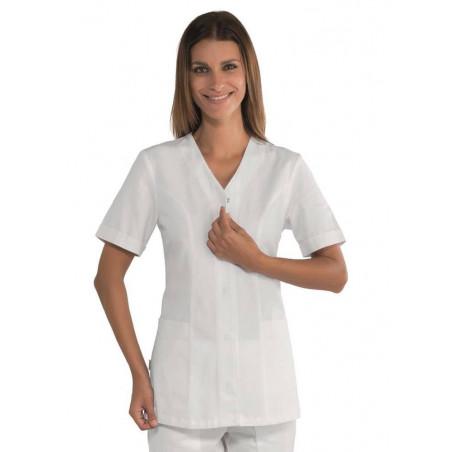 Tunique médicale femme SION blanche