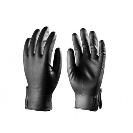 Lots de 10 paires de gants EUROTRIL+ enduit nitrile mousse, support nylon noir