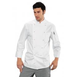 JORRIS Veste de cuisine homme manches longues