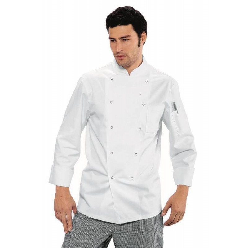Veste de cuisine homme manches longues JORRIS