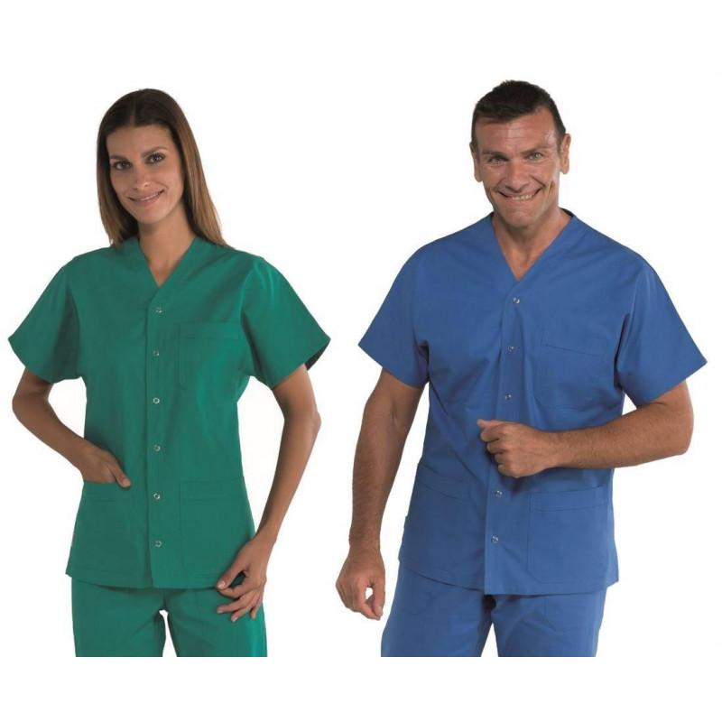 Tunique médicale mixte en coton CANCUN COULEURS