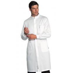 DAVEMPORT Blouse médicale homme poignets tricots  POLYCOTON