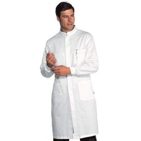 Blouse médicale homme poignets tricots DAVEMPORT POLYCOTON